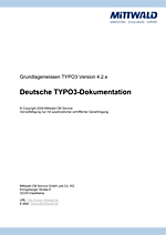 Mittwald TYPO3 Dokumentation