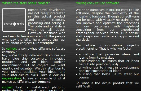 realdevelopers - are you a real developer? Who is conject