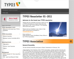 TYPO3 Newsletter