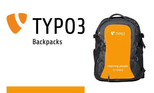 TYPO3 Backpack Rucksack