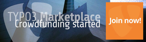TYPO3 Marketplace Crowdfunding